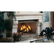 superior fireplaces wrt4542 42 paneled wood burning fireplace with full stacked brick