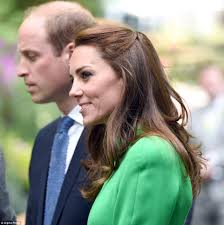 Kate Middleton and Prince William visit Chelsea Flower Show for.