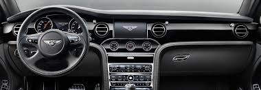 bentley mulsanne interior. view of the bentley mulsanne speed dashboard with all black leather finish motors interior a
