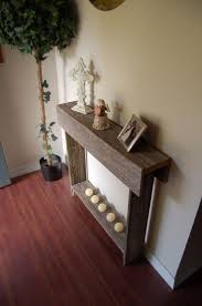 Pallet Entry Table Best 25 Rustic Sofa Tables Ideas On Pinterest Natural