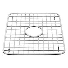 InterDesign Gia Kitchen Sink Protector Grid Mat   Large 12.75x11 Inches  72102