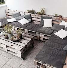 pallet furniture backyard pallets in