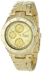 amazon com armitron men s 204224chgp gold tone stainless steel amazon com armitron men s 204224chgp gold tone stainless steel multi function dress watch watches
