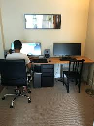 2 person office desk. 2 Person Desk Endearing Two Computer Setup Best Ideas About On . Office