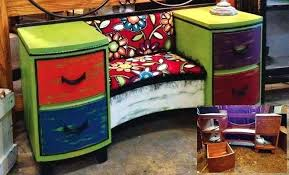 how to repurpose old furniture. The Designers At Flea Market To Fabulous Took An Old Vanity And Turned It Into Something How Repurpose Furniture