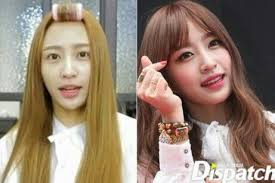 ⑦ exid s hani is the hottest female idol to take over the recent wave of k pop and is also the final female idol to showcase her before and after make up