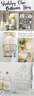 Shabby Chic Bathroom Ideas Transforming Your Space From Simple to Classic.  1. Thrift Store Towel Hanger Revamp