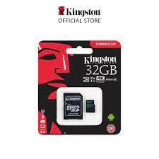 Thẻ nhớ Kingston microSDHC Canvas Go Class 10 Tốc độ đọc 90Mb/s quay phim  4K cho GoPro, Flycam, máy quay dung lượng 32Gb tốt giá rẻ