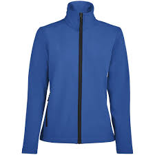 <b>Куртка софтшелл женская RACE</b> WOMEN ярко-синяя (royal) под ...