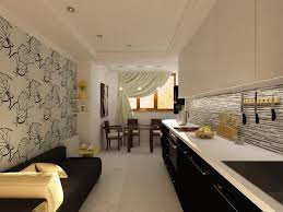 Contemporary Kitchen Wallpaper, Contemporary Kitchen Design ...