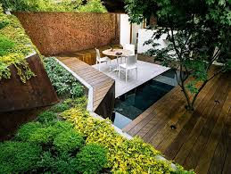 View in gallery multi layered japanese style garden and sitting area 2  thumb 630xauto 40985 Multi Layered Japanese Style