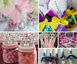 Party Favor Ideas. Girls Only Favors