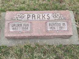 Burton Muriel Parks (1874-1959) - Find A Grave Memorial