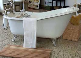 how much is a cast iron clawfoot tub worth used cast iron tub tubs custom painted vintage bathtub with shower powder blue markings architecture home depot