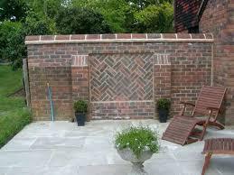 Front Garden Brick Wall Designs Fascinating Brick Wall Designs Defiss