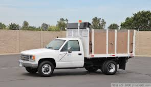 All Chevy chevy c3500 : 1991 Chevrolet C3500 9' Flatbed Dump Truck for sale - YouTube