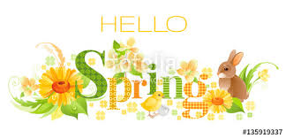 Image result for hello springtime