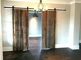 barnwood door hardware sliding doors specialty woods closet stainless track system set sli