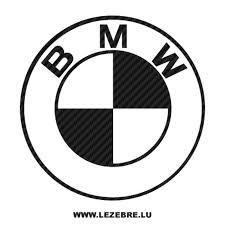 Sticker Karbon BMW logo 4