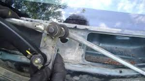 How to replace windshield wipers motor Toyota Corolla. Years 1995 ...