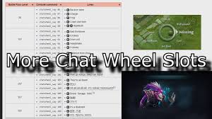 dota 2 more chat wheel slots for ti7 lines youtube
