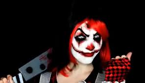 watch clown makeup tutorial easy scary clown 31 days of gif on