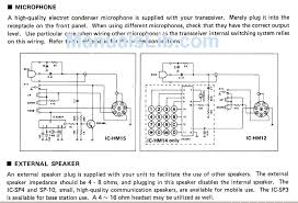 icom Microphone Pinouts Wiring And Connection Diagram ic 3200 mic pinouts Realistic 5 Pin Microphone Wiring