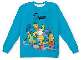 <b>Детский свитшот унисекс</b> Симпсоны #2460420 в Москве ...