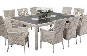 modern patio and furniture medium size wicker outdoor settings dining sets grace seater indoor wicker