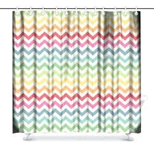 colorful fabric shower curtains bright colored