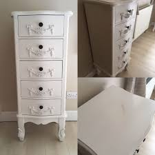Shabby Chic White Bedroom Furniture Toulouse Shabby Chic Bedroom Furniture Chest Of Drawers Bedside