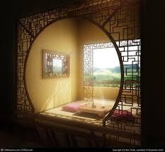 Chinese Art Interior Design Moon Gate Trellis Chinese Art Deco Love