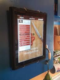 diy ipad wall mount