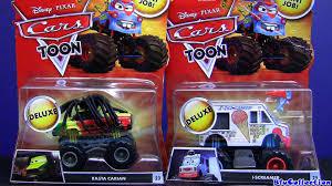 Cars Toon I-SCREAMER Deluxe Diecast RASTA CARIAN Monster Truck Mater ...