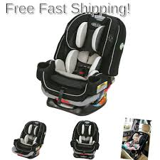 details about graco 4ever extend2fit all in one convertible car seat clove