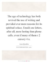 Phone Call Quotes Mesmerizing The Age Of Technology Has Both Revived The Use Of Writing And