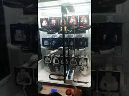 Sneaker Vending Machine For Sale Mesmerizing Playing Sneaker Key Machine At Plug Malaysia YouTube