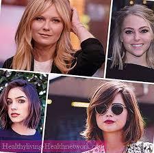 Co účesy Jsou Vhodné Pro Kulatý Obličej Foto Vlasy 2019