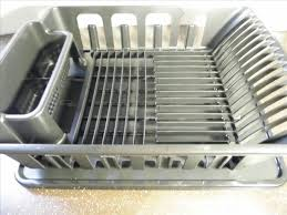 Kitchen Sink Drain Rack How To Slope Your Dish Rack Pan For Perfect Draining A Macgyverisms