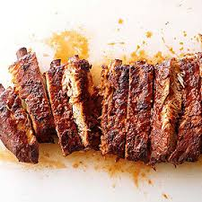 memphis dry rub ribs with dijon bbq sauce from chili s nurtrition