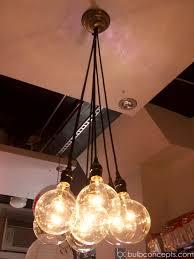 lighting hanging light bulbs from cord multiple bulb fixture diy terrarium lamp socket kit chandelier