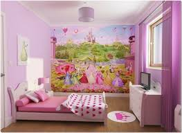 Pink Wallpaper For Bedrooms Ideas For A Girls Room Cool