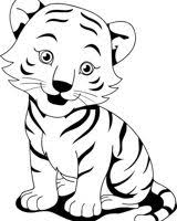 baby tiger clipart black and white. Delighful Tiger Baby Tiger Clipart Black And White 2 Thumb Image  PREVIOUS NEXT  Related Wallpapers Throughout Baby Tiger Clipart Black And White