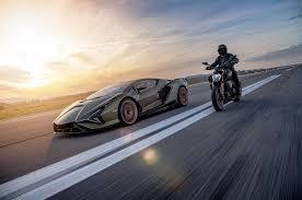 Ducati diavel 1260 top speed is 270 kmph (approximate). Lamborghini Sian Makes Dynamic Debut With Limited Run Ducati Autocar