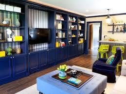 Living Room Bookcase Living Room Built In Shelves Hgtv