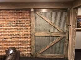 sliding shed door photos wall and door