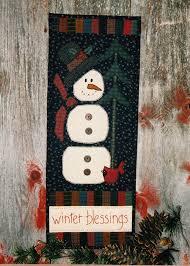 203 best Applique Patterns images on Pinterest | Paper models ... & Snowman Applique Quilt Pattern #CCQ 134 - Winter Blessings by  SimplyUniqueBySheila on Etsy Adamdwight.com