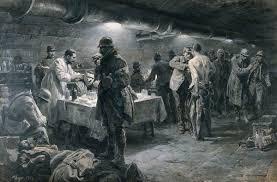 first world war a french underground hospital at verdun