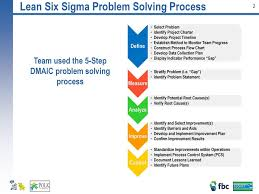 Six Sigma Dmaic Improvement Story Ppt Download