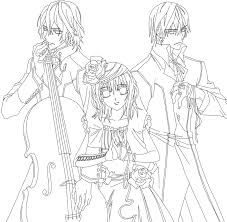 Small Picture Vampire Knight Outline by YumeTsukai182 on DeviantArt